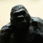 New Black Gorilla #1. 2009.  Impression jet d'encre.